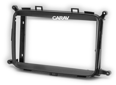 "Carav Carav 22-423   9"" переходная рамка KIA Carens 2013+, Rondo 2013+ (фото, вид 2)"