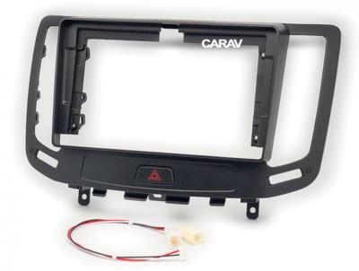 "Carav Carav 22-1140 | 9"" переходная рамка Infiniti G 2006-2014 (фото, вид 3)"