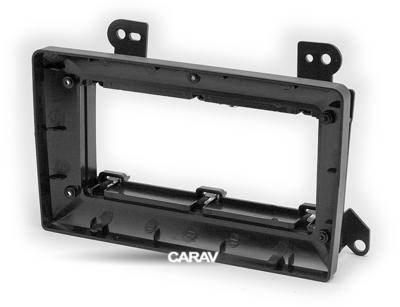 "Carav 22-1038   9"" рамка для магнитолы Mazda MPV 99-05, Premasy 99-05 (фото, вид 2)"