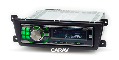 Carav Переходная рамка 1DIN LADA Priora Kalina 2013+ (CARAV 11-781) (фото, вид 1)