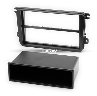 Carav Carav 11-782   1DIN переходная рамка Skoda Fabia 07+, Octavia 07+, SuperB 08+, Yeti 09+ (фото, вид 1)