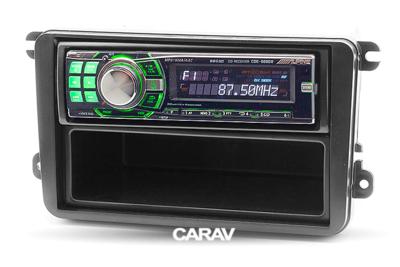 Carav Carav 11-782   1DIN переходная рамка Skoda Fabia 07+, Octavia 07+, SuperB 08+, Yeti 09+ (фото, вид 3)