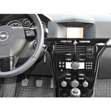Incar (Intro) Переходная рамка Opel Astra-H, Corsa 06+ 2din black (салазки) Incar ROP-N15S (фото, вид 1)