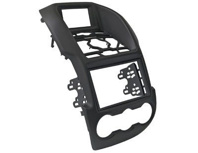 Incar (Intro) Переходная рамка INTRO RMZ-N27BL для Ford Ranger 2012+ BLACK 2 DIN (фото, вид 1)