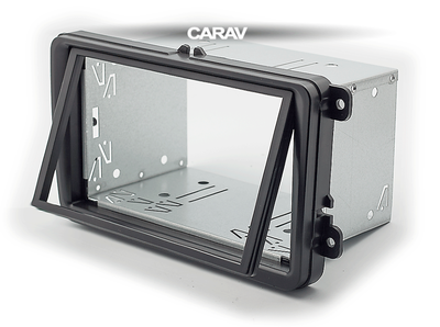 Carav Универсальная корзина для крепления 2-DIN магнитолы (180 x 103 mm) (CARAV 14-003) (фото, вид 2)