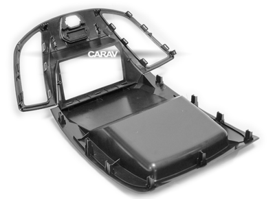 Carav Carav 11-770 | 2DIN переходная рамка Ford Transit 2014-2021 (фото, вид 1)