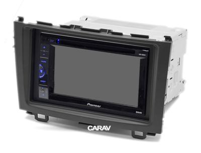 Carav Carav 07-012   2DIN переходная рамка Honda CR-V 2007-2011 (фото, вид 3)