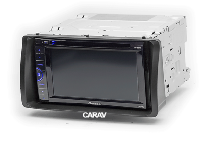 Carav Carav 11-038 | 2DIN переходная рамка Toyota Corolla 2001-2006 (фото, вид 2)