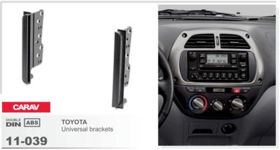 Carav Carav 11-039   2DIN боковые вставки универсальные Toyota (фото, вид 3)