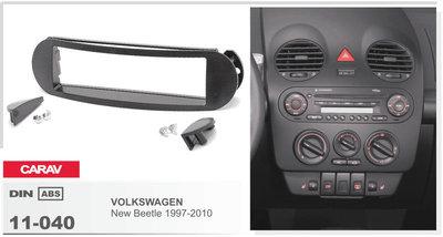Carav Carav 11-040 | 1DIN переходная рамка Volkswagen New Beetle 1997-2010 (фото, вид 2)