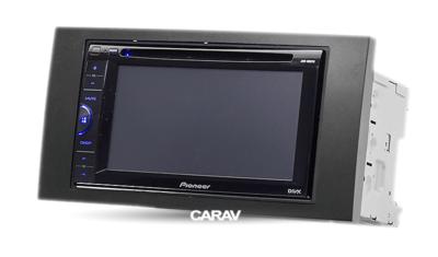 Carav Carav 11-046   2DIN переходная рамка Ford Focus II, C-Max 2005-2011, S-Max, Fusion, Transit 2006-2011, Fiesta, Galaxy 2006-2008, Kuga 2008-2012 (фото, вид 3)
