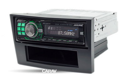 Carav Carav 11-025   1DIN переходная рамка Opel Astra (H) 2004-2010б Antara, Corsa (D) 2006-2015; Zafira (B) 2005-2012, Daewoo Winstorm 2008-2011, GMC Terrain 2008-2010 (с карманом) (фото, вид 2)