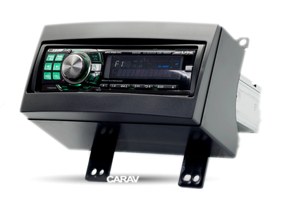 Carav Carav 11-023 | 1DIN переходная рамка KIA CEE'D 2007-2009 (фото, вид 2)