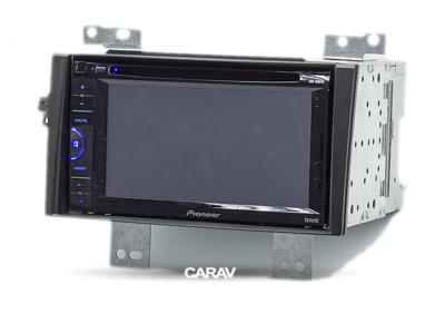 Carav Carav 11-021 | 2DIN переходная рамка KIA CEE'D 2007-2009 (в комлекте металлическая корзина для крепления а/магнитолы) (фото, вид 4)