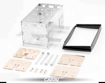 Carav Carav 11-021 | 2DIN переходная рамка KIA CEE'D 2007-2009 (в комлекте металлическая корзина для крепления а/магнитолы) (фото, вид 5)