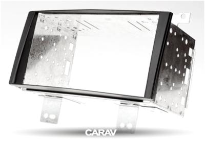 Carav Carav 11-021 | 2DIN переходная рамка KIA CEE'D 2007-2009 (в комлекте металлическая корзина для крепления а/магнитолы) (фото, вид 6)