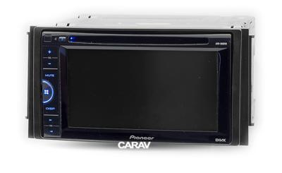 Carav Carav 11-019   2DIN переходная рамка Hyundai Santa Fe 2006-2010 (только для а/м с навигацией) (фото, вид 3)