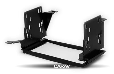 Carav Carav 11-019   2DIN переходная рамка Hyundai Santa Fe 2006-2010 (только для а/м с навигацией) (фото, вид 4)