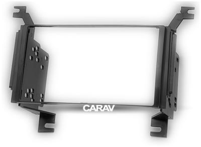 Carav Carav 11-019   2DIN переходная рамка Hyundai Santa Fe 2006-2010 (только для а/м с навигацией) (фото, вид 5)