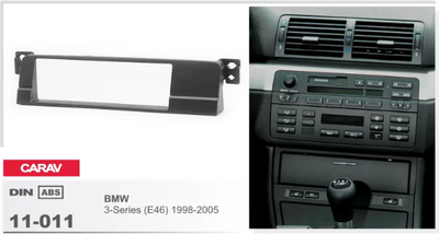 Carav Рамка BMW 3-Series (E46) 1998-2005 (CARAV 11-011) (фото, вид 2)