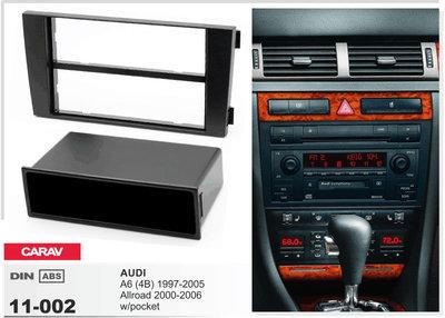 Carav Рамка AUDI A6 (4B) 1997-2004, ALLROAD 2000-2006 (с карманом) (CARAV 11-002) (фото, вид 2)