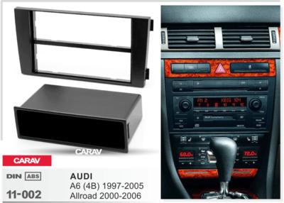 Carav Рамка AUDI A6 (4B) 1997-2004, ALLROAD 2000-2006 (с карманом) (CARAV 11-002) (фото, вид 3)