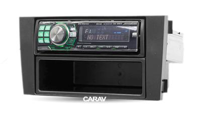 Carav Рамка AUDI A6 (4B) 1997-2004, ALLROAD 2000-2006 (с карманом) (CARAV 11-002) (фото, вид 4)