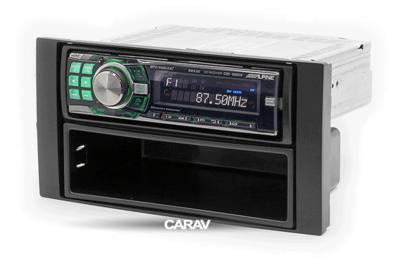 Carav Carav 10-001   1DIN переходная рамка Ford Focus II, C-Max 2005-2011; S-Max, Fusion, Transit 2006-2011; Fiesta, Galaxy 2006-2008; Kuga 2008-2012 (c карманом) (фото, вид 3)