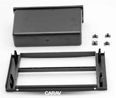 Carav Carav 10-001   1DIN переходная рамка Ford Focus II, C-Max 2005-2011; S-Max, Fusion, Transit 2006-2011; Fiesta, Galaxy 2006-2008; Kuga 2008-2012 (c карманом) (фото, вид 5)