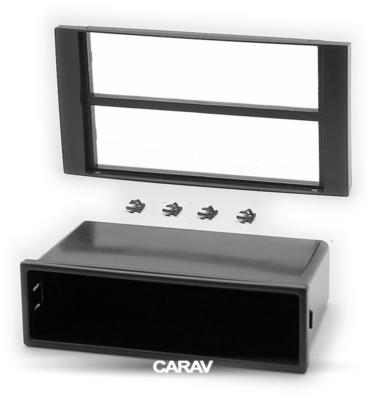 Carav Carav 10-001   1DIN переходная рамка Ford Focus II, C-Max 2005-2011; S-Max, Fusion, Transit 2006-2011; Fiesta, Galaxy 2006-2008; Kuga 2008-2012 (c карманом) (фото, вид 6)