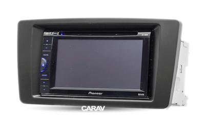 Carav Carav 09-004 | 2DIN переходная рамка Skoda Octavia 2004-2013, Laura 2004-2008, Yeti 2009+ (фото, вид 3)