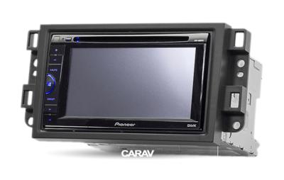 Carav Carav 09-003 | 2DIN переходная рамка Chevrolet Aveo, Lova 2007-2011, Captiva, Epica 2006-2011 (фото, вид 3)