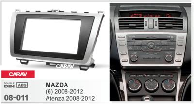 Carav Рамка MAZDA (6), Atenza 2008-2012 (CARAV 08-011) (фото, вид 2)