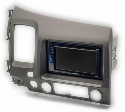Carav Carav 11-063 | 2DIN переходная рамка Honda Civic Sedan 2007-2011 (руль слева) (фото, вид 1)