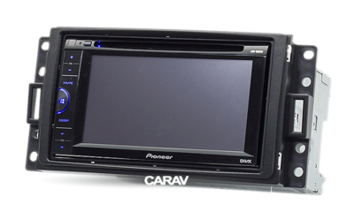 Carav Carav 11-064   2DIN переходная рамка Hummer H3 2005-2010 (фото, вид 5)