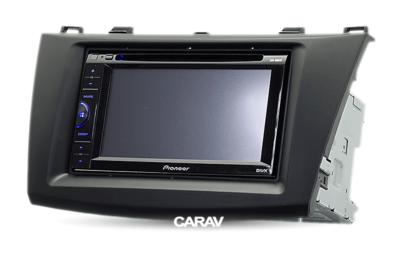 Carav Carav 11-082   2DIN переходная рамка Mazda (3), Axela 2009-2013 (фото, вид 3)