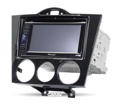 Carav Carav 11-086   2DIN переходная рамка Mazda RX-8 2003-2008 (без климат-контроля) (CARAV 11-086) (фото, вид 2)
