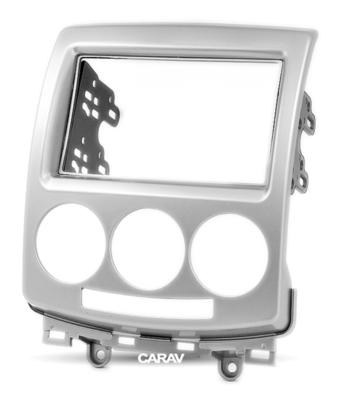 Carav Carav 11-084 | 2DIN переходная рамка Mazda (5), Premacy 2005-2010, Ford i-Max 2006-2009 (фото, вид 5)