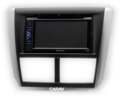 Carav Carav 11-095 | 2DIN переходная рамка Subaru Forester 2008-2012, Impreza 2007-2012 (фото, вид 2)