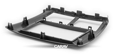 Carav Carav 11-095 | 2DIN переходная рамка Subaru Forester 2008-2012, Impreza 2007-2012 (фото, вид 4)