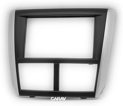 Carav Carav 11-095 | 2DIN переходная рамка Subaru Forester 2008-2012, Impreza 2007-2012 (фото, вид 5)
