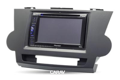 Carav Carav 11-099   2DIN переходная рамка Toyota Highlander 2008-2013, Kluger 2008-2014 (фото, вид 4)