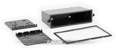 Carav Carav 11-106 | 2DIN переходная рамка Mazda (6), Atenza 2002-2007 (с карманом) (в комлекте с платой для а/м без климат-контроля) (фото, вид 6)