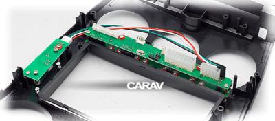 Carav Carav 11-106 | 2DIN переходная рамка Mazda (6), Atenza 2002-2007 (с карманом) (в комлекте с платой для а/м без климат-контроля) (фото, вид 8)