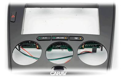 Carav Carav 11-106 | 2DIN переходная рамка Mazda (6), Atenza 2002-2007 (с карманом) (в комлекте с платой для а/м без климат-контроля) (фото, вид 10)