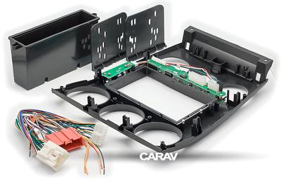 Carav Carav 11-106 | 2DIN переходная рамка Mazda (6), Atenza 2002-2007 (с карманом) (в комлекте с платой для а/м без климат-контроля) (фото, вид 12)