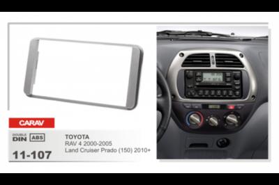 Carav Carav 11-107 | 2DIN переходная рамка Toyota универсальная (фото, вид 2)