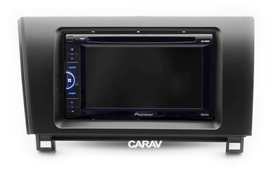 Carav Carav 11-112 | 2DIN переходная рамка Toyota Tundra 2007-2013, Sequoia 2007+ (фото, вид 4)