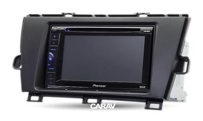 Carav Carav 11-111   2DIN переходная рамка Toyota Prius 2009-2012 (руль слева) (фото, вид 4)