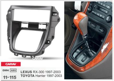 Carav Carav 11-115   2DIN переходная рамка Toyota Harrier 1997-2003, Lexus RX-300 1997-2003 (фото, вид 3)